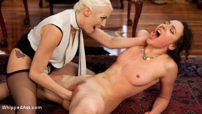 Lesbian Professor Seduces and Dominates Hot Co-Ed!
