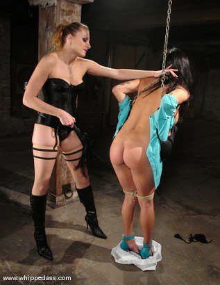 Photo number 3 from Nadia Styles and Nikki Nievez shot for Whipped Ass on Kink.com. Featuring Nikki Nievez and Nadia Styles in hardcore BDSM & Fetish porn.