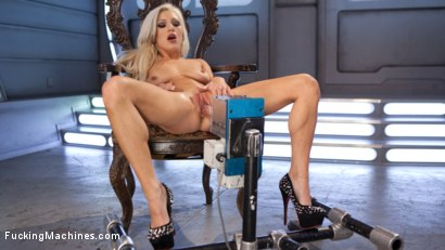 Photo number 15 from All Natural Blonde Bomb Shell Does Anal and Screams for More!!! shot for Fucking Machines on Kink.com. Featuring Cameron Dee in hardcore BDSM & Fetish porn.