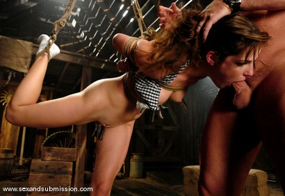 Photo number 5 from Bobbi Starr shot for Sex And Submission on Kink.com. Featuring Mark Davis and Bobbi Starr in hardcore BDSM & Fetish porn.