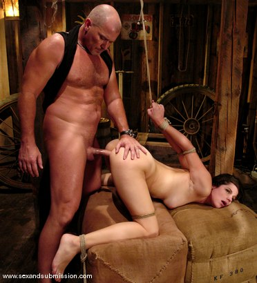 Photo number 8 from Bobbi Starr shot for Sex And Submission on Kink.com. Featuring Mark Davis and Bobbi Starr in hardcore BDSM & Fetish porn.