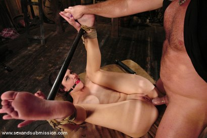 Photo number 12 from Bobbi Starr shot for Sex And Submission on Kink.com. Featuring Mark Davis and Bobbi Starr in hardcore BDSM & Fetish porn.