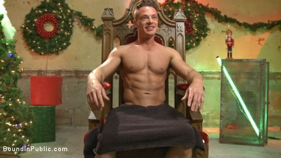 Photo number 15 from Stuffing the holiday whore shot for Bound in Public on Kink.com. Featuring Rex Cameron, Vinnie Stefano and Connor Maguire in hardcore BDSM & Fetish porn.