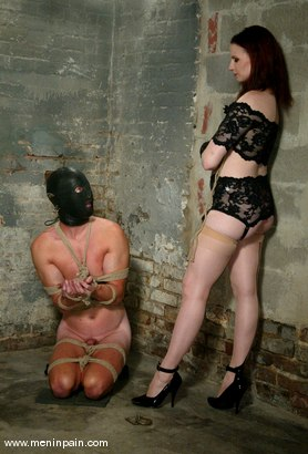 Photo number 1 from Claire Adams and Rick Hunt shot for Men In Pain on Kink.com. Featuring Rick Hunt and Claire Adams in hardcore BDSM & Fetish porn.