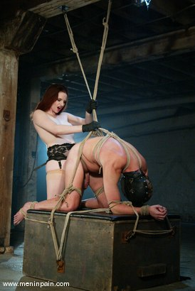 Photo number 8 from Claire Adams and Rick Hunt shot for Men In Pain on Kink.com. Featuring Rick Hunt and Claire Adams in hardcore BDSM & Fetish porn.