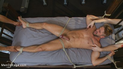 Photo number 13 from Horny Gym Stud's Wet Dream shot for Men On Edge on Kink.com. Featuring Wesley Woods in hardcore BDSM & Fetish porn.