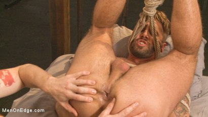 Photo number 6 from Horny Gym Stud's Wet Dream shot for Men On Edge on Kink.com. Featuring Wesley Woods in hardcore BDSM & Fetish porn.