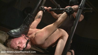 Photo number 4 from Straight Southern Boy Endures a Hard Beating & Humiliating Ass Fuck shot for 30 Minutes of Torment on Kink.com. Featuring Zane Anders in hardcore BDSM & Fetish porn.