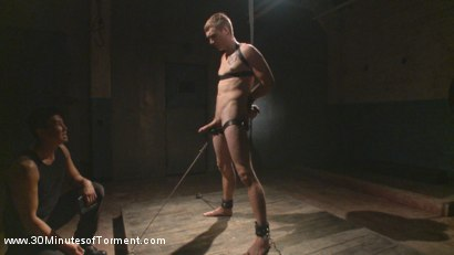 Photo number 1 from Straight Southern Boy Endures a Hard Beating & Humiliating Ass Fuck shot for 30 Minutes of Torment on Kink.com. Featuring Zane Anders in hardcore BDSM & Fetish porn.
