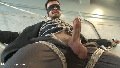 Photo number 9 from Ripped Stud Blackmailed into an Edging shot for Men On Edge on Kink.com. Featuring Jason Maddox in hardcore BDSM & Fetish porn.