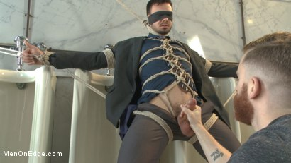 Photo number 3 from Ripped Stud Blackmailed into an Edging shot for Men On Edge on Kink.com. Featuring Jason Maddox in hardcore BDSM & Fetish porn.
