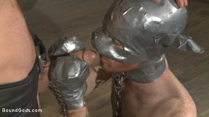 Photo number 11 from Slave #523 Endures Tape Dom's Brutality shot for Bound Gods on Kink.com. Featuring Damien Michaels and Seamus O'Reilly in hardcore BDSM & Fetish porn.