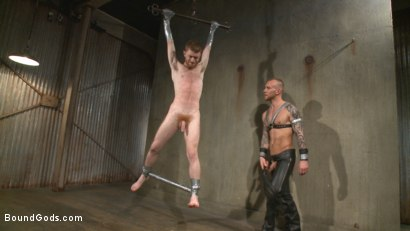 Photo number 12 from Slave #523 Endures Tape Dom's Brutality shot for Bound Gods on Kink.com. Featuring Damien Michaels and Seamus O'Reilly in hardcore BDSM & Fetish porn.