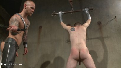 Photo number 13 from Slave #523 Endures Tape Dom's Brutality shot for Bound Gods on Kink.com. Featuring Damien Michaels and Seamus O'Reilly in hardcore BDSM & Fetish porn.