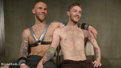 Photo number 15 from Slave #523 Endures Tape Dom's Brutality shot for Bound Gods on Kink.com. Featuring Damien Michaels and Seamus O'Reilly in hardcore BDSM & Fetish porn.