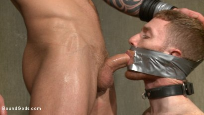 Photo number 8 from Slave #523 Endures Tape Dom's Brutality shot for Bound Gods on Kink.com. Featuring Damien Michaels and Seamus O'Reilly in hardcore BDSM & Fetish porn.