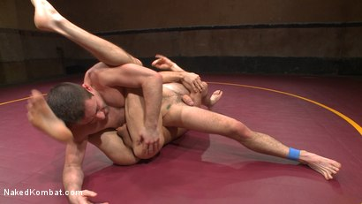 Photo number 11 from Lance Hart vs. Dylan Knight: Loser Gets a Wicked Wedgie and a Rough Fuck shot for Naked Kombat on Kink.com. Featuring Lance Hart and Dylan Knight in hardcore BDSM & Fetish porn.