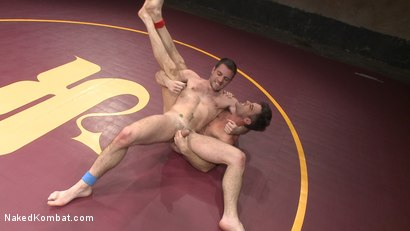 Photo number 12 from Lance Hart vs. Dylan Knight: Loser Gets a Wicked Wedgie and a Rough Fuck shot for Naked Kombat on Kink.com. Featuring Lance Hart and Dylan Knight in hardcore BDSM & Fetish porn.