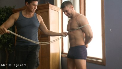 Photo number 2 from Straight Jock Begs to Cum with a Dildo in his Ass shot for Men On Edge on Kink.com. Featuring Rod Pederson in hardcore BDSM & Fetish porn.