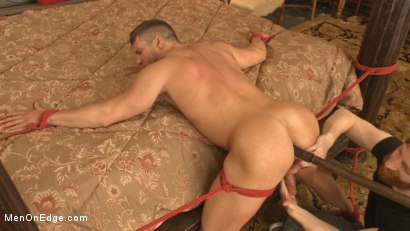 Photo number 6 from Straight Jock Begs to Cum with a Dildo in his Ass shot for Men On Edge on Kink.com. Featuring Rod Pederson in hardcore BDSM & Fetish porn.