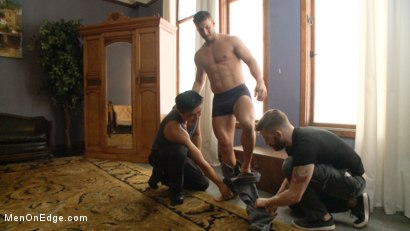 Photo number 1 from Straight Jock Begs to Cum with a Dildo in his Ass shot for Men On Edge on Kink.com. Featuring Rod Pederson in hardcore BDSM & Fetish porn.