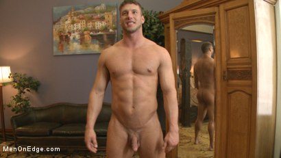 Photo number 15 from Straight Jock Begs to Cum with a Dildo in his Ass shot for Men On Edge on Kink.com. Featuring Rod Pederson in hardcore BDSM & Fetish porn.