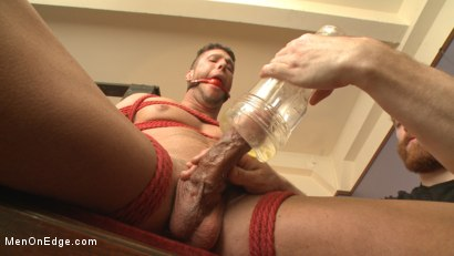 Photo number 8 from Straight Jock Begs to Cum with a Dildo in his Ass shot for Men On Edge on Kink.com. Featuring Rod Pederson in hardcore BDSM & Fetish porn.