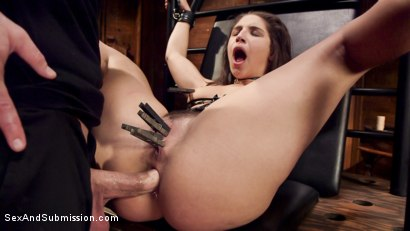 Photo number 8 from Abella's Deep Anal Submission shot for Sex And Submission on Kink.com. Featuring Abella Danger and Bill Bailey in hardcore BDSM & Fetish porn.