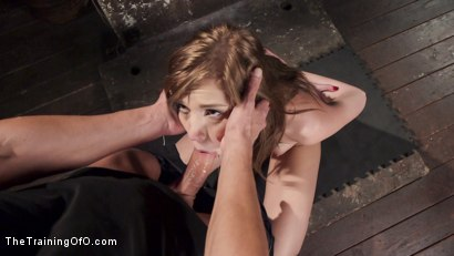 Photo number 2 from Dick and Discipline: Slave Training Nubile Molly Manson shot for The Training Of O on Kink.com. Featuring Molly Manson and Marco Banderas in hardcore BDSM & Fetish porn.