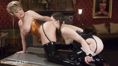 Photo number 1 from Beautiful Lyra Louvel puts her hand and feet in in submissives shot for Everything Butt on Kink.com. Featuring Dee Williams, Lyra Law and Juliette March in hardcore BDSM & Fetish porn.