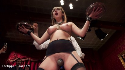 Photo number 13 from Hot Slave Girls Degraded, Fisted & Fucked shot for The Upper Floor on Kink.com. Featuring Aiden Starr, Nikki Knightly, Charlotte Cross and Bill Bailey in hardcore BDSM & Fetish porn.