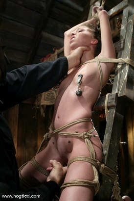 Photo number 4 from Veronica Jett shot for Hogtied on Kink.com. Featuring Veronica Jett in hardcore BDSM & Fetish porn.