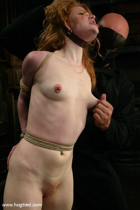 Photo number 2 from Madison Young shot for Hogtied on Kink.com. Featuring Madison Young in hardcore BDSM & Fetish porn.