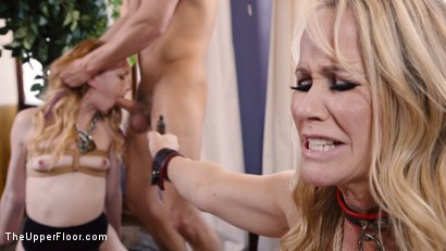 Photo number 12 from Anal Slave Degrades Young Maid on The Butler's Cock shot for The Upper Floor on Kink.com. Featuring Katy Kiss, Simone Sonay and Seth Gamble in hardcore BDSM & Fetish porn.