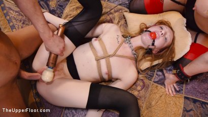 Photo number 25 from Anal Slave Degrades Young Maid on The Butler's Cock shot for The Upper Floor on Kink.com. Featuring Katy Kiss, Simone Sonay and Seth Gamble in hardcore BDSM & Fetish porn.