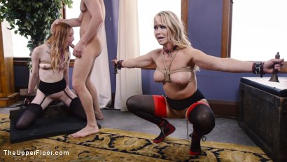 Photo number 9 from Anal Slave Degrades Young Maid on The Butler's Cock shot for The Upper Floor on Kink.com. Featuring Katy Kiss, Simone Sonay and Seth Gamble in hardcore BDSM & Fetish porn.