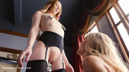 Photo number 14 from Anal Slave Degrades Young Maid on The Butler's Cock shot for The Upper Floor on Kink.com. Featuring Katy Kiss, Simone Sonay and Seth Gamble in hardcore BDSM & Fetish porn.