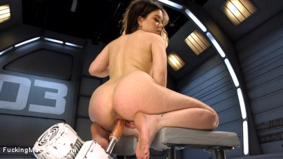 Photo number 1 from Tiny Flirt Gets All Her Holes Stuffed By Fast Fucking Machines shot for Fucking Machines on Kink.com. Featuring Juliette March in hardcore BDSM & Fetish porn.
