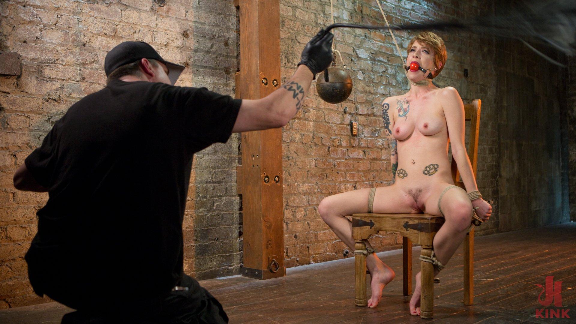Photo number 1 from Hot ALT Girl in Brutal Bondage and Suffering shot for hogtied on Kink.com. Featuring Jeze Belle in hardcore BDSM & Fetish porn.