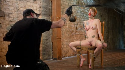 Hot ALT Girl in Brutal Bondage and Suffering