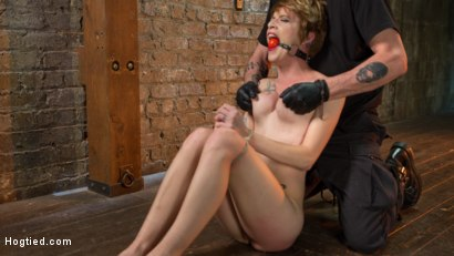 Photo number 14 from Hot ALT Girl in Brutal Bondage and Suffering shot for Hogtied on Kink.com. Featuring Jeze Belle in hardcore BDSM & Fetish porn.