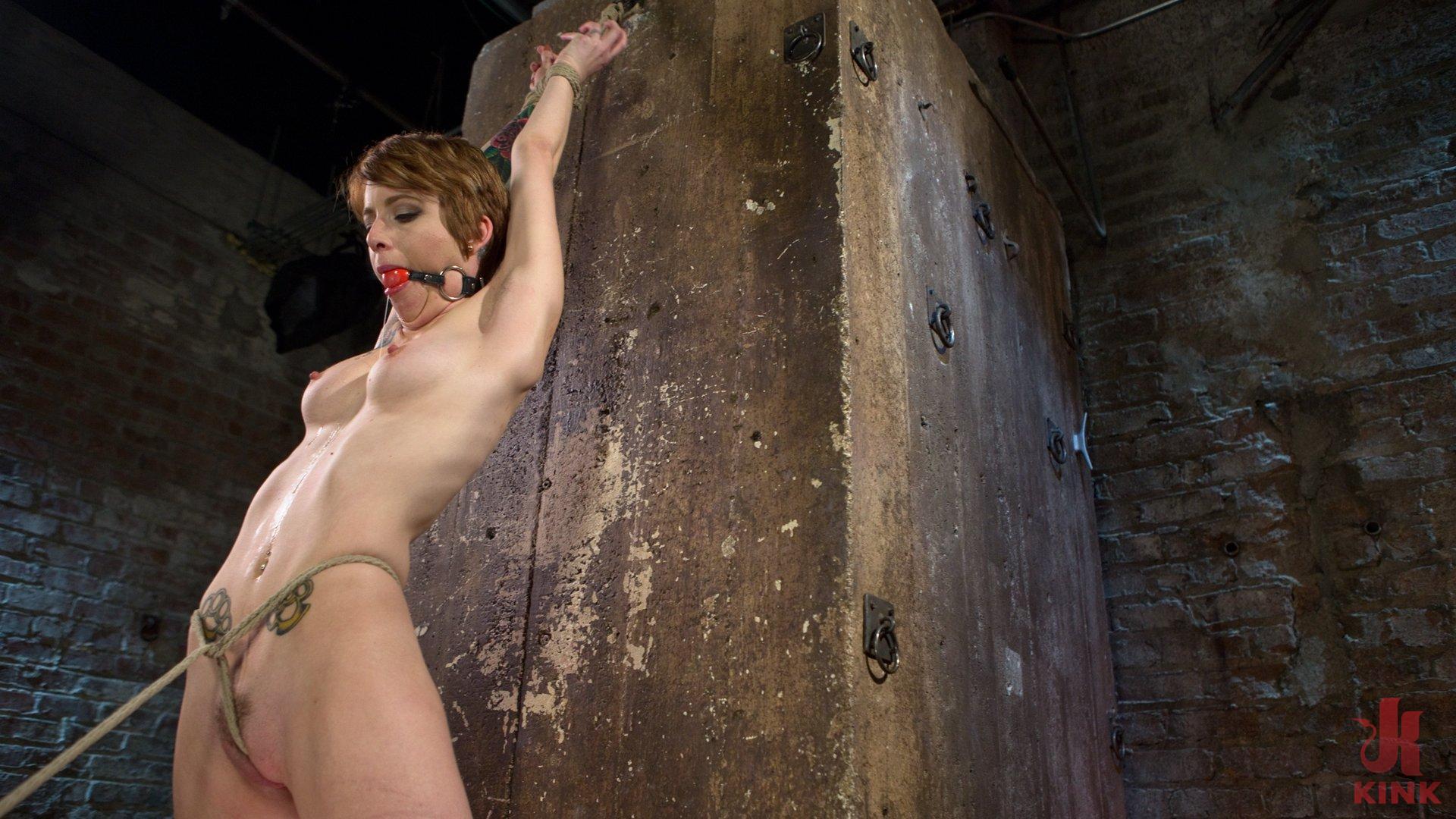 Photo number 4 from Hot ALT Girl in Brutal Bondage and Suffering shot for Hogtied on Kink.com. Featuring Jeze Belle in hardcore BDSM & Fetish porn.