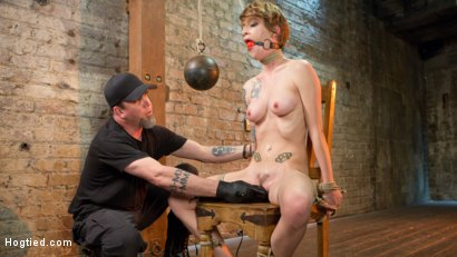 Photo number 6 from Hot ALT Girl in Brutal Bondage and Suffering shot for Hogtied on Kink.com. Featuring Jeze Belle in hardcore BDSM & Fetish porn.