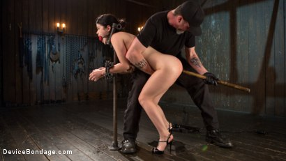 Photo number 2 from Yhivi - Testing Her Limits shot for Device Bondage on Kink.com. Featuring Yhivi and The Pope in hardcore BDSM & Fetish porn.
