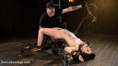 Photo number 14 from Yhivi - Testing Her Limits shot for Device Bondage on Kink.com. Featuring Yhivi and The Pope in hardcore BDSM & Fetish porn.