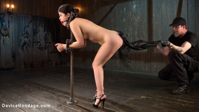 Photo number 7 from Yhivi - Testing Her Limits shot for Device Bondage on Kink.com. Featuring Yhivi and The Pope in hardcore BDSM & Fetish porn.