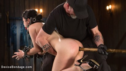Photo number 8 from Yhivi - Testing Her Limits shot for Device Bondage on Kink.com. Featuring Yhivi and The Pope in hardcore BDSM & Fetish porn.