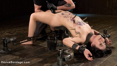 Photo number 1 from Yhivi - Testing Her Limits shot for Device Bondage on Kink.com. Featuring Yhivi and The Pope in hardcore BDSM & Fetish porn.