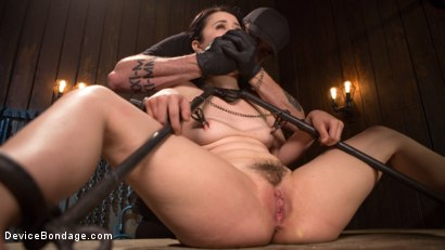 Photo number 3 from Yhivi - Testing Her Limits shot for Device Bondage on Kink.com. Featuring Yhivi and The Pope in hardcore BDSM & Fetish porn.