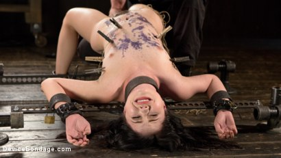 Photo number 10 from Yhivi - Testing Her Limits shot for Device Bondage on Kink.com. Featuring Yhivi and The Pope in hardcore BDSM & Fetish porn.